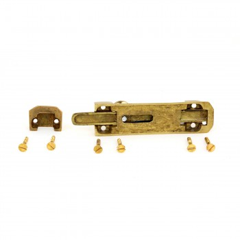 <PRE>4inch Brass Casted Door Slide Bolt </PRE>zoom7