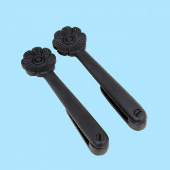 Decorative Solid Aluminium Carpet Clip Stair Holder Pair Aluminium Stair Holds Carpet Runner Holders Polished Stair Carpet Runners