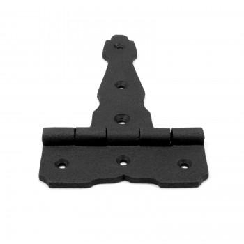 Black Iron Modern 4 T Hinge Screws Included