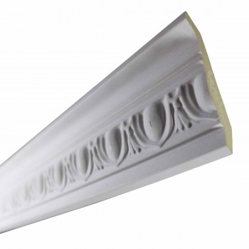 <PRE>Cornice Withe Urethane Sample of 12364 24inch </PRE>zoom5