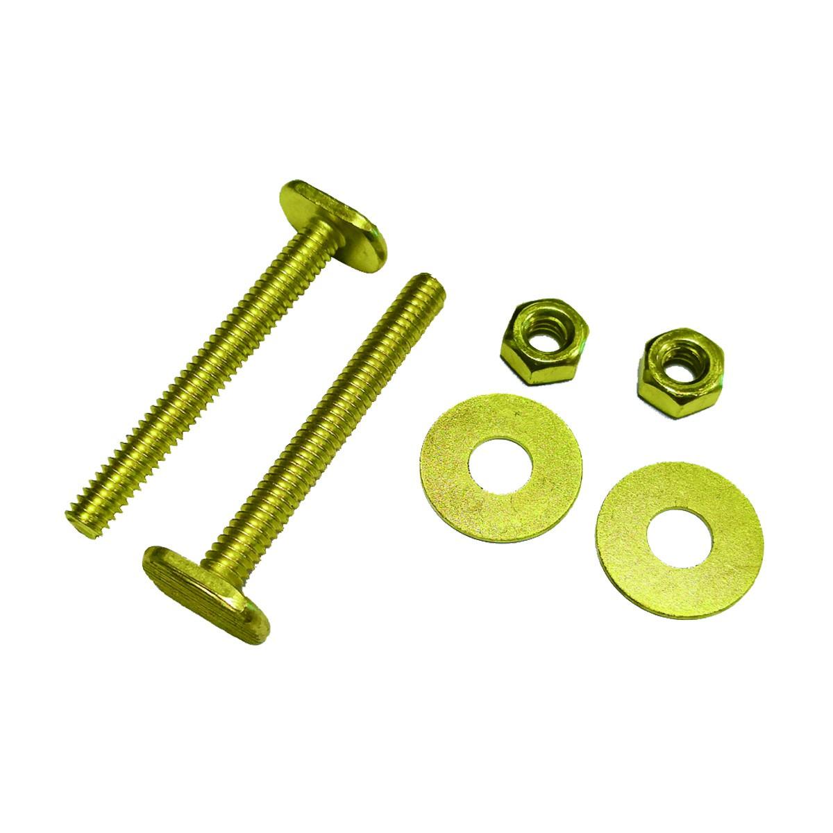 Brass Toilet Flange Wax Ring Kit