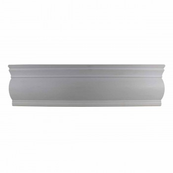 Cornice White Urethane Sample of 12397 15