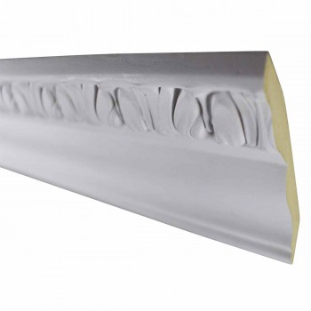 <PRE>Cornice White Urethane Sample of 12408 24inch </PRE>zoom3