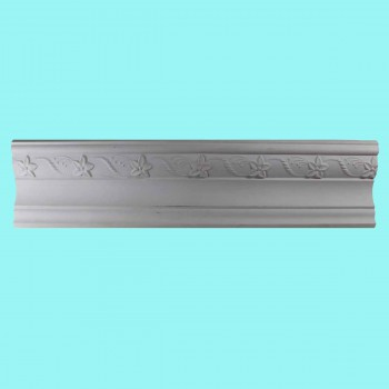 <PRE>Cornice White Urethane Sample of 12416 24inch </PRE>zoom2