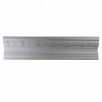 Cornice White Urethane Sample of 12416 24