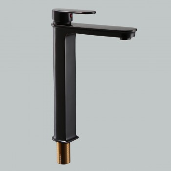 Oil Rubbed Bronze Bathroom Faucet Tall Single Hole Plank Modern Design Heavy Duty
