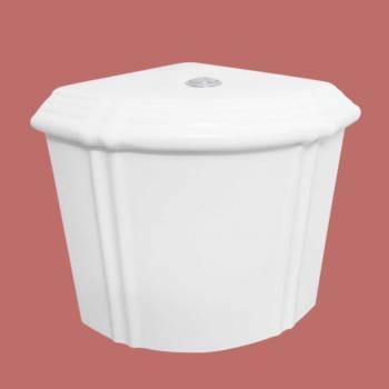 Troyt Corner 2-Piece 0.8 GPF/1.6 GPF WaterSense Toilet Tank Only