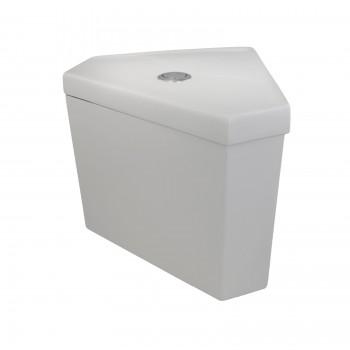 Troyt Corner 2-Piece 0.8 GPF/1.6 GPF WaterSense Toilet Tank Only22424grid