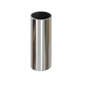 Chrome Sleeve for Ceramic Fill High Tank Pull Chain Toilets
