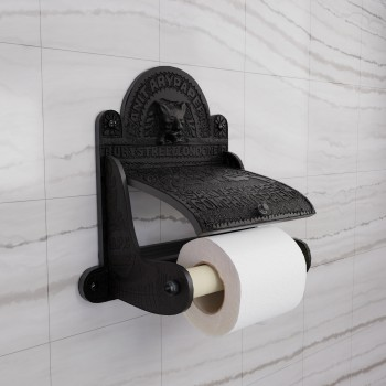 Vintage Toilet Paper Holder Black Aluminum Tissue Holder Black Toilet Paper Holder Brass Toilet Paper Holder Tissue Holder For Bathroom