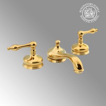 Brass Widespread Bathroom Faucet Heavy Duty Lux Belle Design Includes Drain Bathroom Sink 8 Faucet Chrome Brass Bathroom Wide spread Faucets Bathroom 8inch Faucet Single Lever