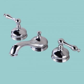 Bathroom Sink 8 Faucet Chrome Brass Bathroom Wide spread Faucets Bathroom 8inch Faucet Single Lever