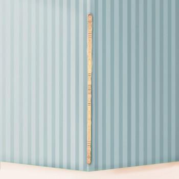 Light Hardwood Edge & Corner Guards Unfinished 1 Inch Diameter Pack of 8