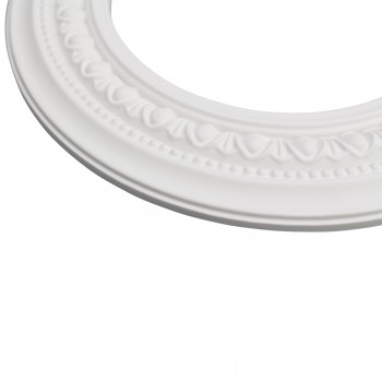 <PRE>4 Spotlight Trim Medallions White Urethane 6-1/2inch ID Set of 4 </PRE>zoom6