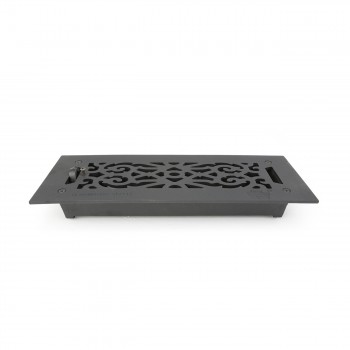 "<PRE>Floor Heat Register Louver Vent Victorian Cast 4inch x 12"" Duct </PRE>zoom6"