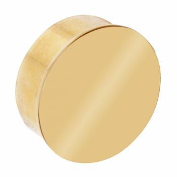 Simple Polished Brass Flush Plug