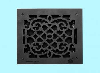 <PRE>Floor Heat Register Louver Vent Victorian Cast 10 x 12 Duct </PRE>