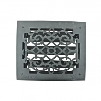 <PRE>Floor Heat Register Louver Vent Victorian Cast 10 x 12 Duct </PRE>zoom7