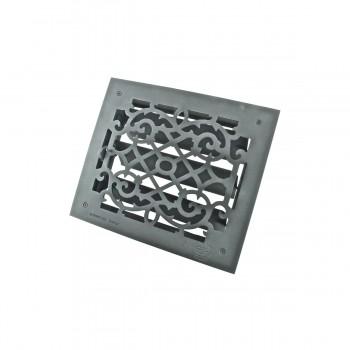 <PRE>Floor Heat Register Louver Vent Victorian Cast 10 x 12 Duct </PRE>zoom9