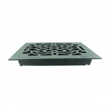 <PRE>Floor Heat Register Louver Vent Victorian Cast 10 x 12 Duct </PRE>zoom11