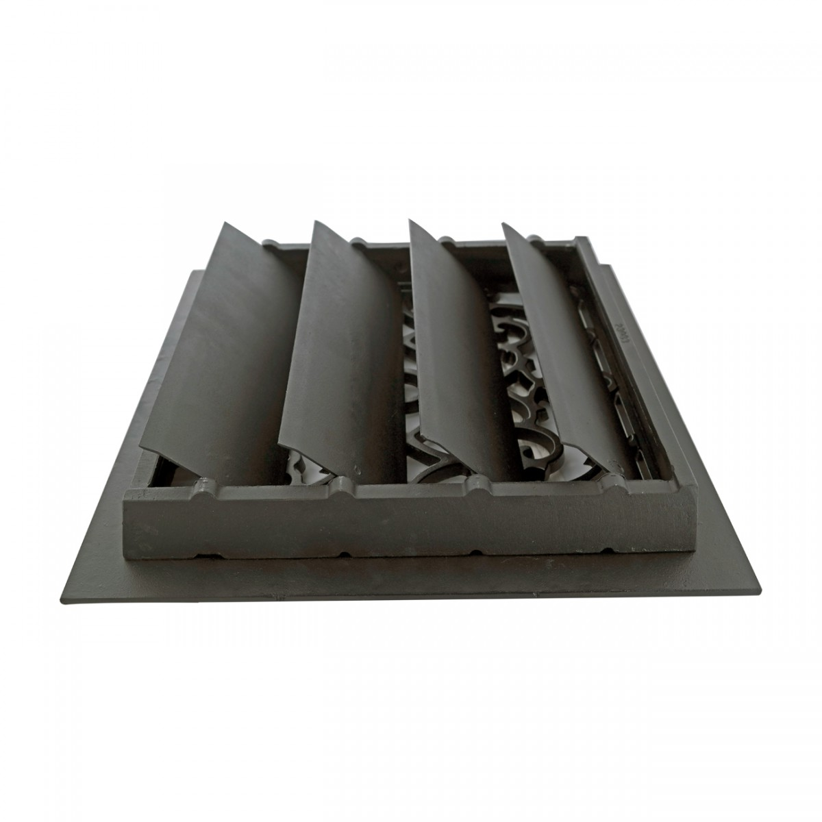 Floor Heat Register Louver Vent Victorian Cast 12 x 12 Duct Heat Register Floor Register Wall Registers
