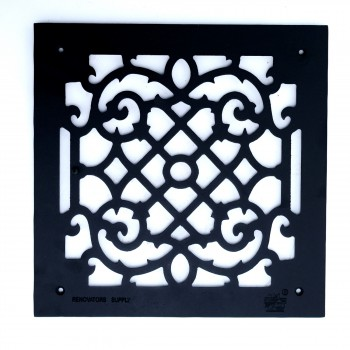 <PRE>Heat Air Grille Cast Victorian Overall 14 x 14 </PRE>zoom4