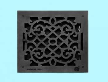 Black Floor Registers -  by the Renovator's Supply