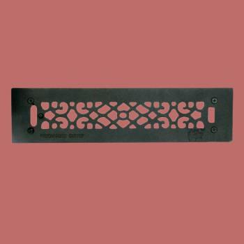 <PRE>Floor Heat Register Louver Vent Cast 2 1/4 x 14 Duct </PRE>zoom2