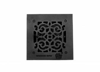 <PRE>Floor Heat Register Louver Vent Victorian Cast 6&quot; x 6&quot; Duct </PRE>