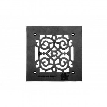 Heat Air Grille Cast Victorian Overall 8 x 8 23110grid