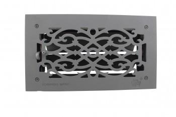 "<PRE>Floor Heat Register Louver Vent Victorian Cast 6inch x 12"" Duct </PRE>zoom7"
