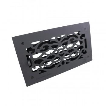 "<PRE>Floor Heat Register Louver Vent Victorian Cast 6inch x 12"" Duct </PRE>zoom8"