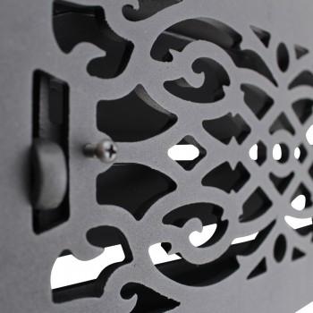 "<PRE>Floor Heat Register Louver Vent Victorian Cast 6inch x 12"" Duct </PRE>zoom10"
