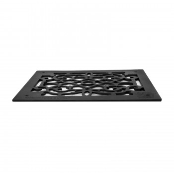 Heat Air Grille Cast Victorian Overall 10 x 14 floor register air vent grilles return air grill