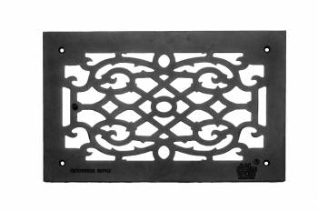 Heat Air Grille Cast Victorian Overall 10 x 16