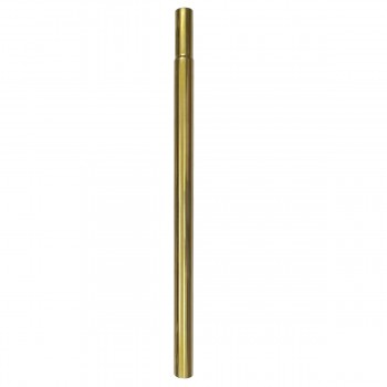 Renovators Supply High Tank Toilet 24 Height Extender Flush Pipe in Brass PVD