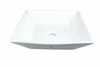 <PRE>Renovator's Supply White Porcelain Bathroom Vessel Sink Square Set of 2</PRE>zoom3