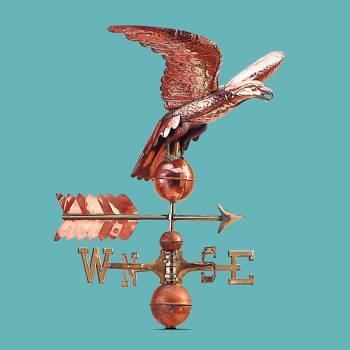<PRE>Weathervane Copper Eagle ONLY Freedom's Flight </PRE>zoom2