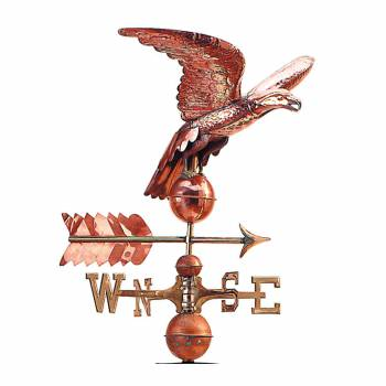 Eagle Weathervane ONLY Freedom's Flight 100% Copper