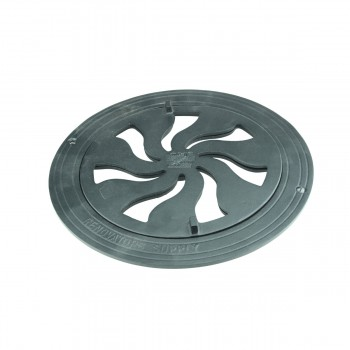 <PRE>Round Heat Register Wall Floor Vent Grate Cast Aluminum 8inch </PRE>zoom3