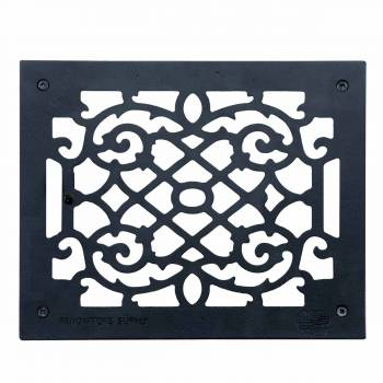 Heat Register Floor Vent Grate Cast Aluminum  9.5