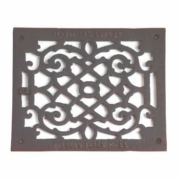 Heat Register Black Aluminum Air Grill 9 12 x 11 38 Heat Register Floor Register Wall Registers