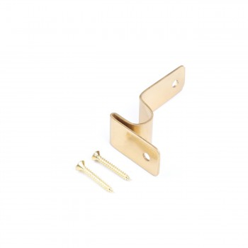 <PRE>Carpet Rod Brackets Bright Solid Brass Stair Runner Rods 2 3/8 Inch X 3/4 Inch</PRE>zoom2