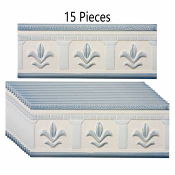 15 Pcs Ceramic Listello Tile Border Chair Rail 3 x8