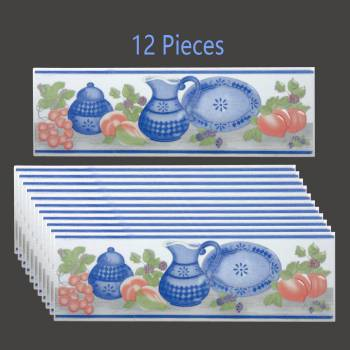 <PRE>12 Pcs Ceramic Listello Tile Border Chair Rail 3inch x 10&quot; </PRE>zoom2