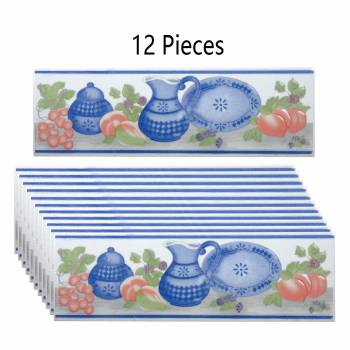 <PRE>12 Pcs Ceramic Listello Tile Border Chair Rail 3inch x 10&quot; </PRE>zoom1