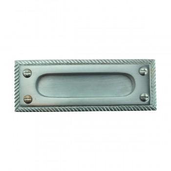 2 Rope Sash Lift Satin Chrome Brass Rectangular Window Pulls Window Lifts Sash Lift