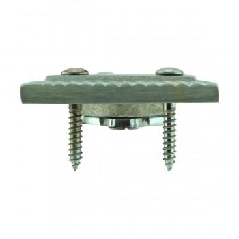 <PRE>2 Rope Sash Lift Satin Chrome Brass Rectangular  </PRE>zoom6