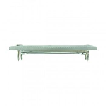 <PRE>2 Rope Sash Lift Satin Chrome Brass Rectangular  </PRE>zoom7