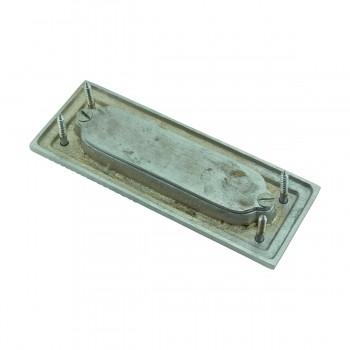 <PRE>2 Rope Sash Lift Satin Chrome Brass Rectangular  </PRE>zoom8